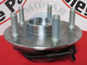 DODGE RAM 1500 Front Brake Hub And Bearing NEW OEM MOPAR