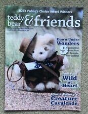 Teddy Bear And Friends Magazine November 2018 New! Vol 36 No. 6