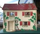 Childs Vintage 1940s Keystone Wooden Doll House 2 Story 6 Rooms PickUp SoCal
