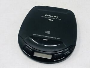 Panasonic Vintage SL-S120 Portable CD Player XBS Heat Resistant & Tested