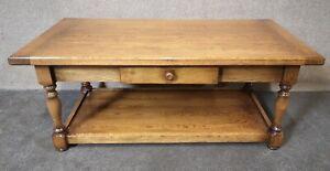 Oak Rectangular Coffee Table, Bright's of Nettlebed