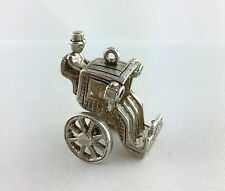 Vintage Sterling Silver Carriage Charm - 5.6 gr