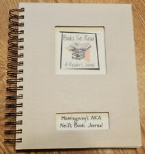 """""""Books I've read""""  LOG BOOK READING JOURNAL NOTEBOOK personalized for NEIL"""