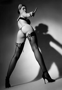 SUPERB CANVAS SEXY EROTIC FETISH STOCKINGS #349 QUALITY FRAMED WALL ART A1