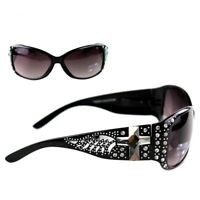 Montana West Bling Bling Sunglasses UV400 Protection Cross Designer Glasses