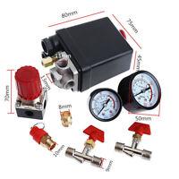 """Für Druckluft Kompressor Druckregler Kompressorschalter 1/4"""" NPT Druckschalter"""