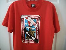 Vintage Boy Scouts T tee Shirt Medium M Indiana Order Of The Arrow Cub Eagle BSA