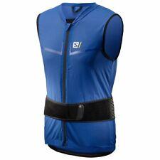 Salomon flexcell light vest race blue large back protector ski bike