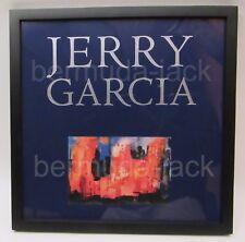 JERRY GARCIA FRAMED NEW YORK AT NIGHT ART PRINT - GRATEFUL DEAD