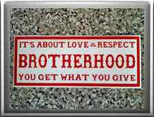 HELLS ANGELS Support 81 Sticker BROTHERHOOD small