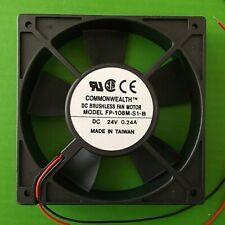 Fan 24 Vdc Cooling 120mm Fans 120 x120x 25.4mm Ball FP108M/DC24VS1B x 1pc