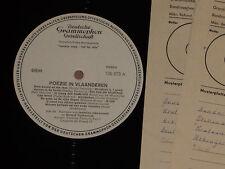 Poezie In Vlaanderen - Schevernels, Vermeersch LP  Musterplatte mint