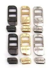 Universal Set of Metal Buckles for Camera Straps (Gold, Silver or Platinum)