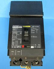 * Square D Powerpact Hg 150 3 Pole 125 Amp Breaker Hga36125 . W-102