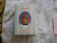 Madame Alexander Little Red Riding Hood Figurine 2001 Still in Box
