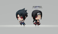 New CHIMI MEGA BUDDY SERIES! SASUKE UCHIHA & ITACHI BROTHERS DUEL SET US Seller