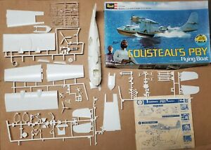 Vintage Model -Cousteau's PBY Flying Boat- Incomplete? 1/72 scale kit bash Used