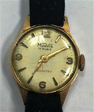 Orologio vintage MONVIS FHF 34 1940/1950 OR0 18kt circa funzionante 18/4/16