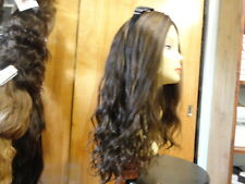 Malky Wig Sheitel 100% European Multidirectional Wig Medium Brown 8/4 wavy 22""