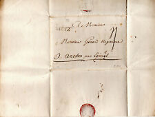 France 1758 Cover Metz with content Postal History