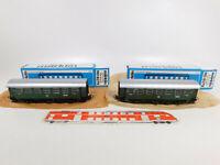CO545-0,5# 2x Märklin H0/AC 4079 Personenwagen B3yge/87 453 Stg DB, NEUW+OVP