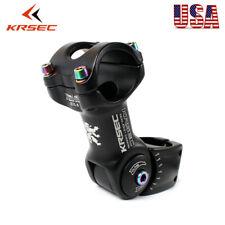 25.4/31.8*90/110mm Handlebar Stem Adjustale ±60°For MTB Road Bike Aluminum Stem