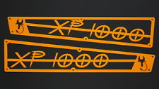 Inner Demon Motorsports Orange Side Vent Cover Kit Polaris RZR XP 1000 & Turbo