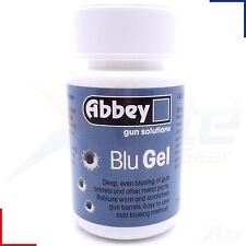Abbey Blu Gel - Blueing Gun Metal Barrel Blue Liquid Shotgun Rifle Airgun 75gm