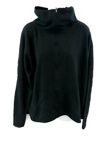 CHAMPION Womens Tracksuit Top Track Jacket XL Black Polyester & Cotton