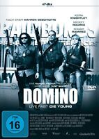 DOMINO - LIVE FAST, DIE YOUNG - KEIRA KNIGHTLEY, MICKEY ROURKE - DVD NEU