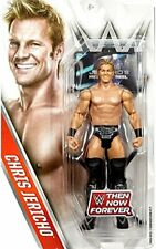 WWE Chris Jericho Then Now Forever Mattel Wrestling Figure - New
