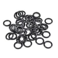 Carp Fishing Tackle Rubber O Rings Black For Fishing Bite Alarms, Rod Pods, N6J3