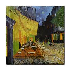 Van Gogh Night Terrace Art Ceramic Tile Coaster