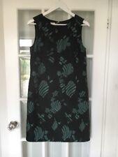 Armani Collezioni Abito Black & Green Patterned Dress Size 42 Brand New RRP £450