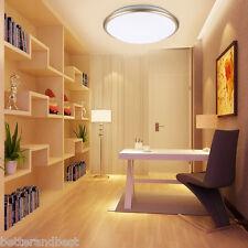 30W Round LED Ceiling Light Flush Mount Fixture Lamp Cool White Kitchen LN
