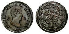 FERNANDO VII. 8 MARAVEDIS. 1817. JUBIA .ESCASA Y MUY BUENA  CONDICION.