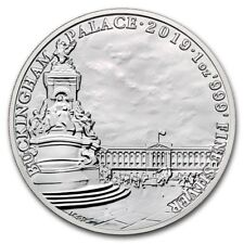GRANDE BRETAGNE 2 Livres Argent 1 once Buckingham Palace 2019