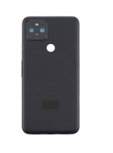 Google Pixel 5 Back Rear Housing Glass Battery Cover Replacement Black Colour