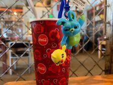*NEW Disney Parks Toy Story 4 2019 Ducky & Bunny Straw Clip Stick