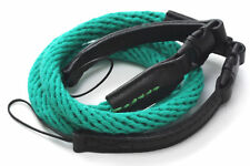 Mint Green 95cm Cotton Rope Camera Strap with loop connection by Cam-in UK Stock