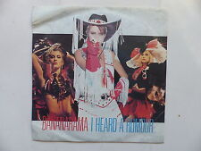 45 Tours BANANARAMA I heard a rumour , clean cut boy 886165
