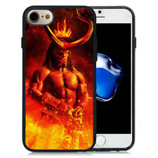 Hellboy Superhero Manga Comic Silicone Case Cover for iPhone6 7 8 Plus X XR XS