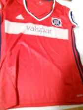 Adidas CHICAGO FIRE Jersey 2016 Primary Kit Valspar MLS Soccer Football Red L