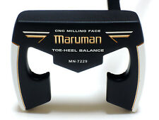 Japanese! Golf Clubs Putter MARUMAN Toe-Heel Balance MN-7229 34-inches, Unused!!