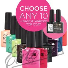 CND SHELLAC - 7.3ml - Any 10 Colours + Base + XPRESS5 Top