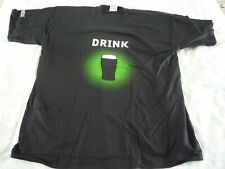 More details for guinness  ' drink st patricks day ' t shirt - sized xl - unused old stock