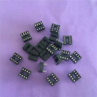 20PCS ST079Y  8 Pin DIP8 IC Sockets Adaptor Solder Type IC Connector Chip Base H