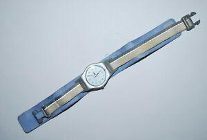Vintage Swatch Watch LM117 BLUE HEALTH 2000 Swiss Lady Quartz 25mm Originals