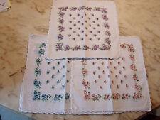 12 mouchoirs femme 100% coton tissées festonnés n°232
