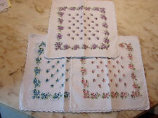 BETZ 12 Pièce Femmes Tissu Mouchoirs Set Paloma 3 30x30 cm 100/% coton